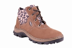 Bota PS 157 A-130 Taupe/Onça Diamantina