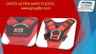 CINTO ULTRA SAFE FUOCO na internet