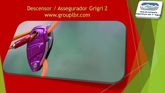 Descensor / Assegurador Grigri 2 - CASA DO ALPINISTA