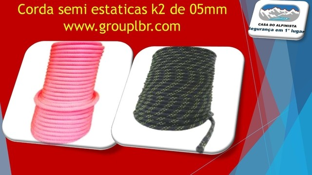 Cordin Semi-Estática K2 5,0 mm na internet