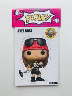 Stickers - Músicos Axel Rose