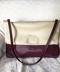 CARTERA MOMA ( Beige y Bordo ) en internet