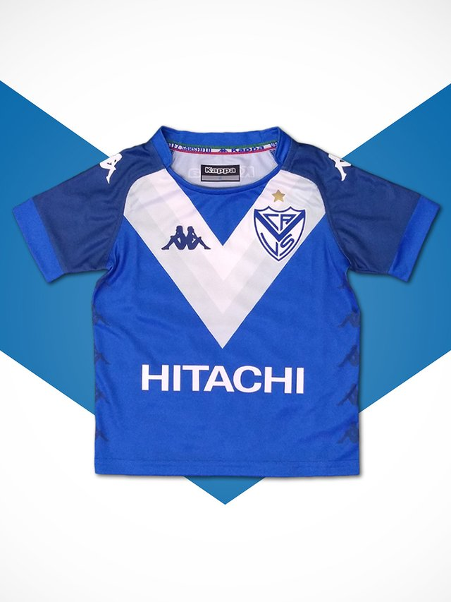 Camiseta Away Kids Vélez 2018/19