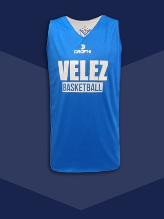 Remera Basquet reversible