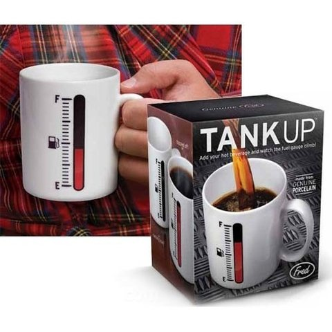 Taza Mágica Tank Up en internet