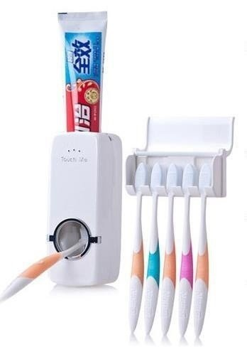 Dispenser de Pasta dental + Porta Cepillo - tienda online