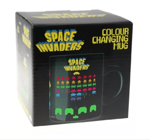 Taza Space Invaders en internet