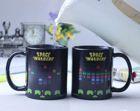 Taza Space Invaders - Ártico Store