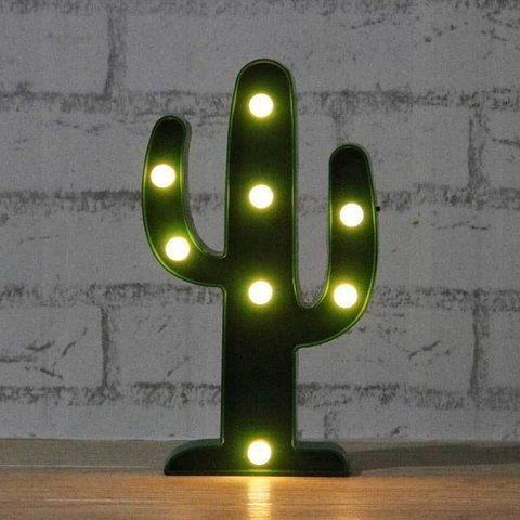 Lámpara Led cactus