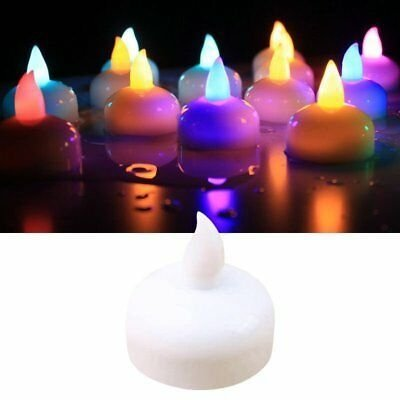 Velas led sumergibles x6