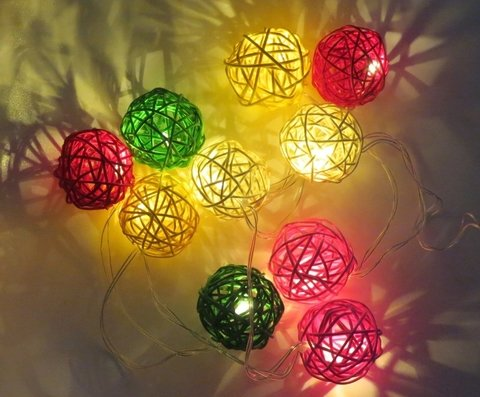 Guirnaldas De Luces Multicolores en internet