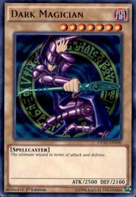 Yugioh Dark Magician Dusa En100 Ultra Rare