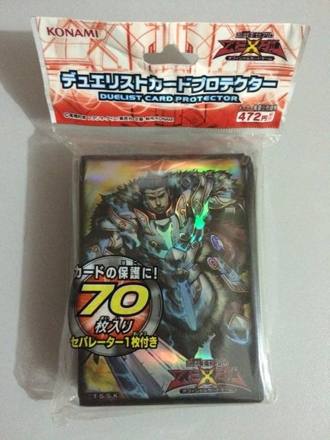 Yu-Gi-Oh Zexal - Artorigus King of the Noble Knights Card Sleeve 70 UNIDADES