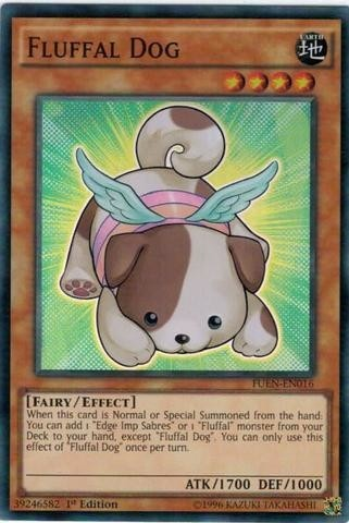 Fluffal Dog - FUEN - 016 Super Rare