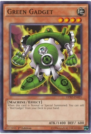 YUGIOH GREEN GADGET - DPRP-PT021 - COMMON