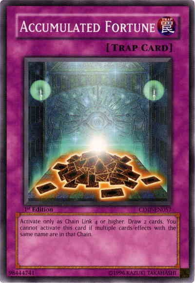 YuGiOh Accumulated Fortune CDIP-EN057 Common