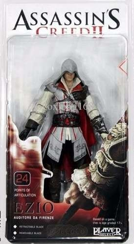 Boneco Ezio Master Assassins Neca Assassins Creed 2
