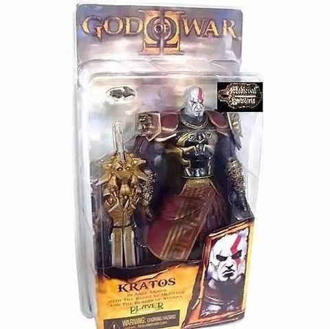 Boneco Kratos Armadura De Ares - God Of War  - NECA