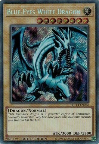 Blue-Eyes White Dragon - MP17  SECRET RARE PRE VENDA