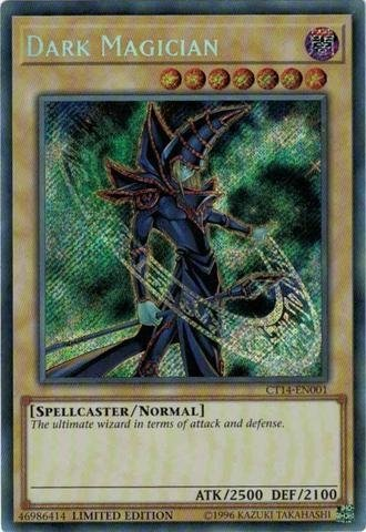 DARK MAGICIAN - CT14 SECRET RARE