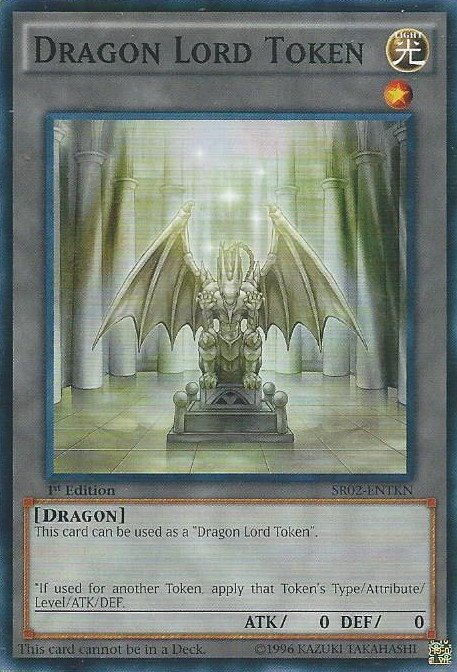 DRAGON LORD TOKEN - SR02-PTTKN - COMMON