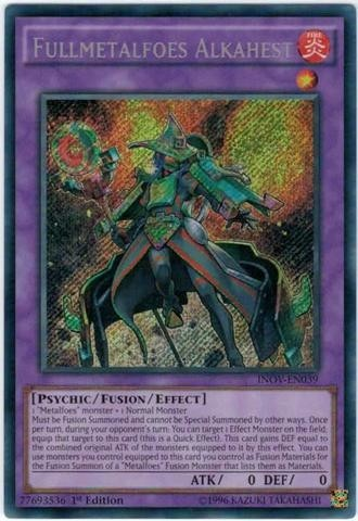 yugioh Fullmetalfoes Alkahest - INOV - secret rare