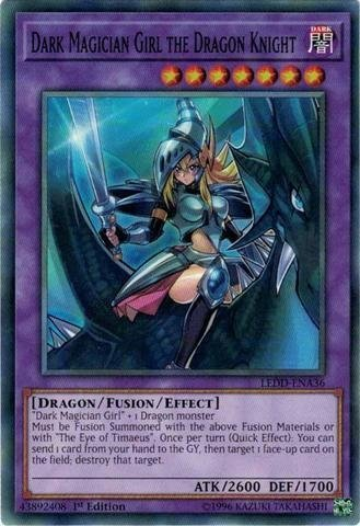 Dark Magician Girl the Dragon Knight - LEDD COMUM PRE VENDA
