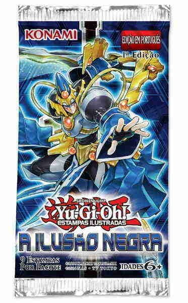 YUGIOH Boosters A ILUSÃO NEGRA - THE DARK ILLUSION