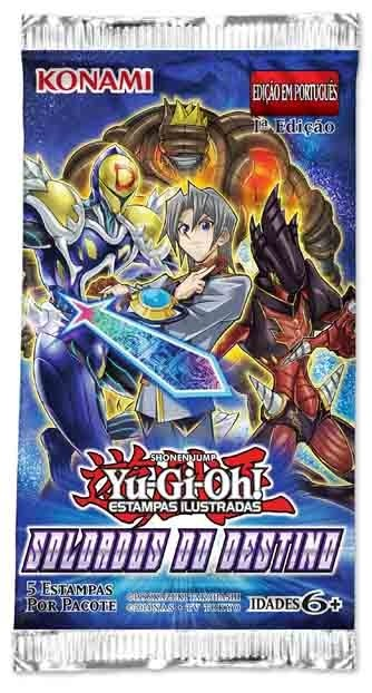 Yu-Gi-Oh Soldados do Destino BOOSTERS