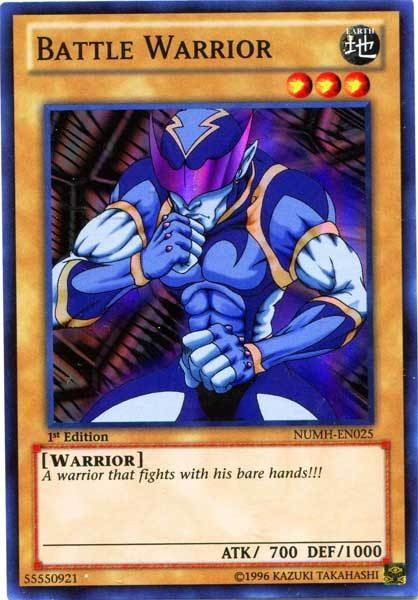 YuGiOh Battle Warrior NUMH-EN025 - Super Rare