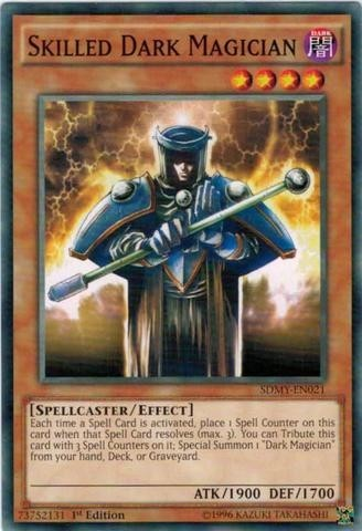 YUGIOH SKILLED DARK MAGICIAN - SDMY-EN021 - COMMON