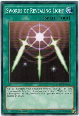 YUGIOH SWORDS OF REVEALING LIGHT - SDMY-EN029 - COMMON