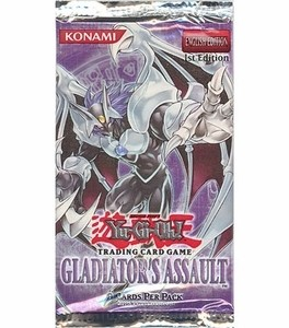 YuGiOh Gladiator's Assault Booster Pack - unlimited