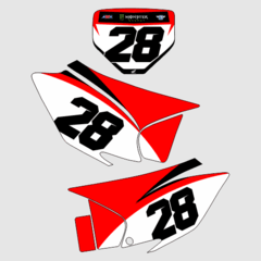 Number plate crf230