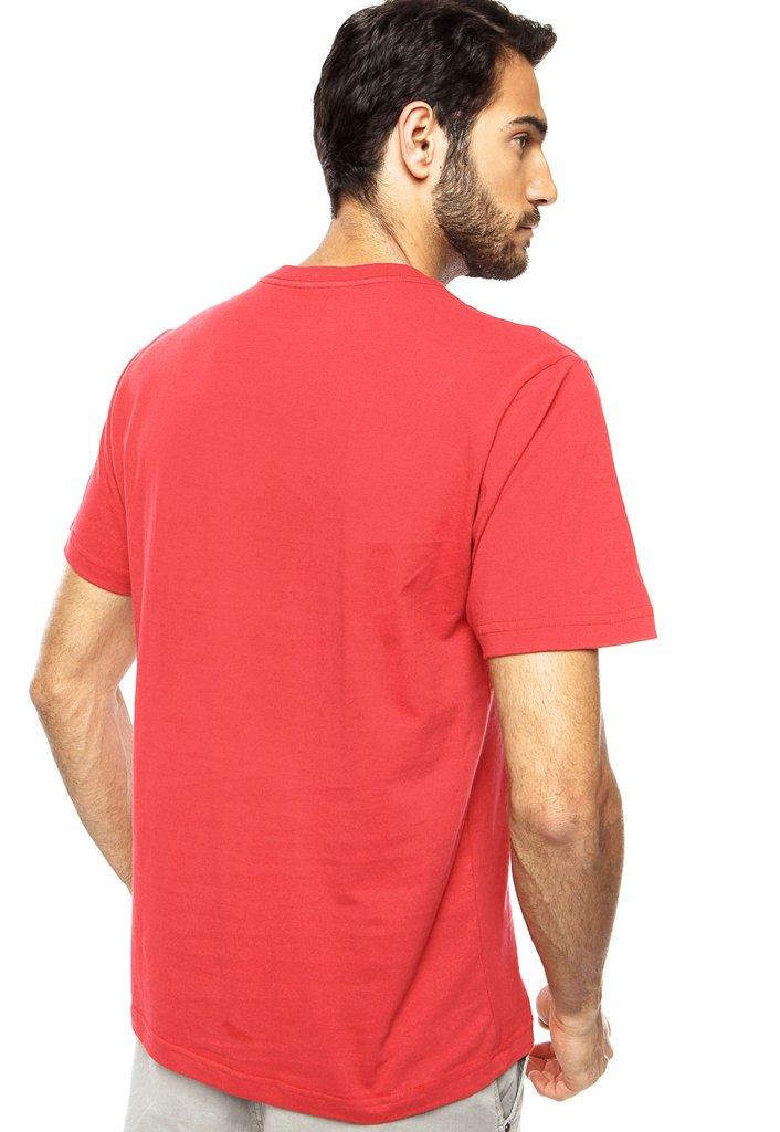 c71bc03640 Camiseta Hurley Skull Skate Vermelha - Regout