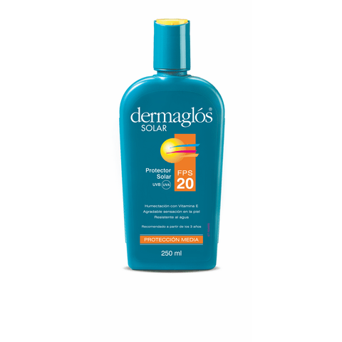 dermaglos solar fps 20 ra emulsion x 250 ml