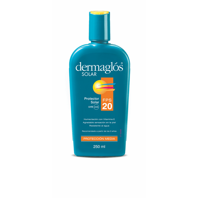 dermaglos solar fps 20 ra emulsion x 250 ml en internet
