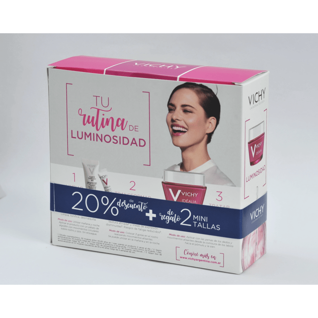 vichy idealia crema energizante kit luminosidad en internet