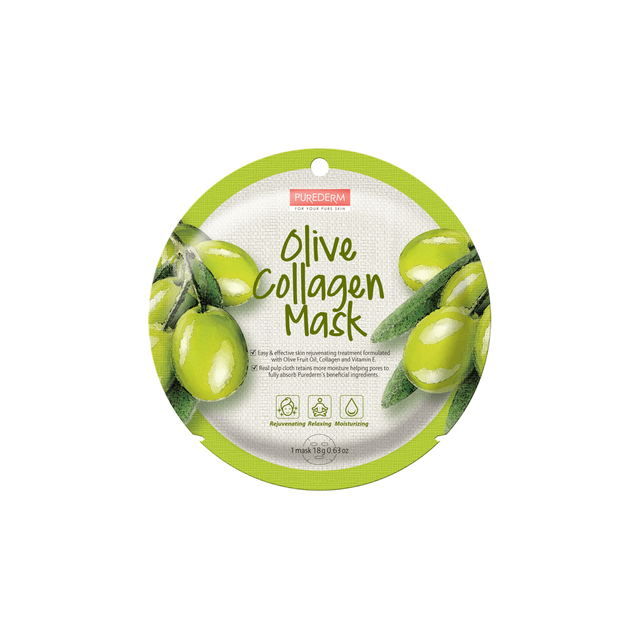 purederm mask olive collagen