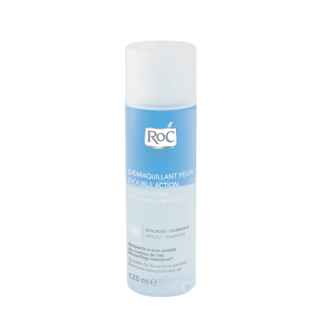 roc demaquillante de ojos bifásico x 125 ml