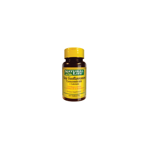 natural life isiflavone concetrate x 60 tabl tas