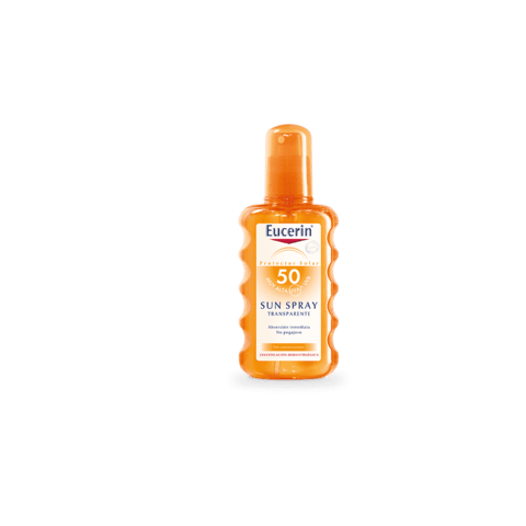 eucerin sun spray transparente fps 50 x 200 ml