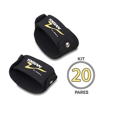 Kit Com 20 Pares de Luva EVA Sliper Torian FTG M 2ff7dfd839227