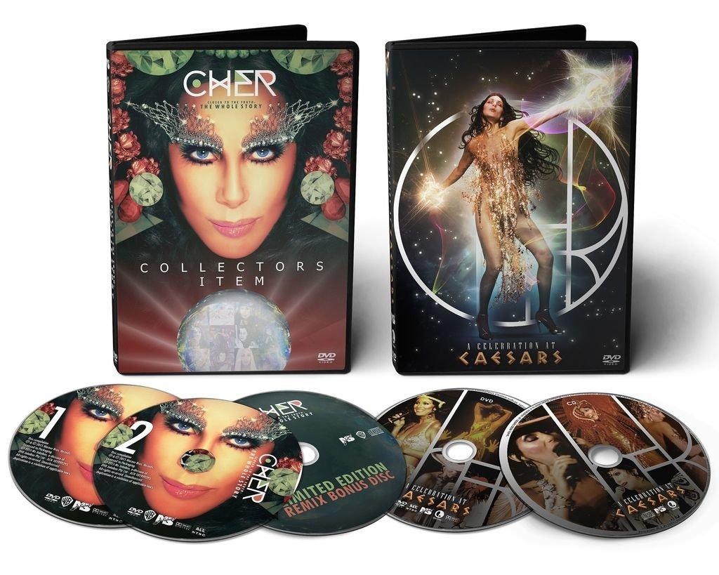 Fotos De Cher kit cher: 3-dvd + 2-cd set - 30% de descuento