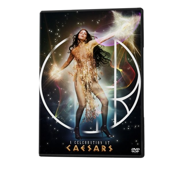 Carátula Portada DVD + CD Cher - A Celebration at Caesars