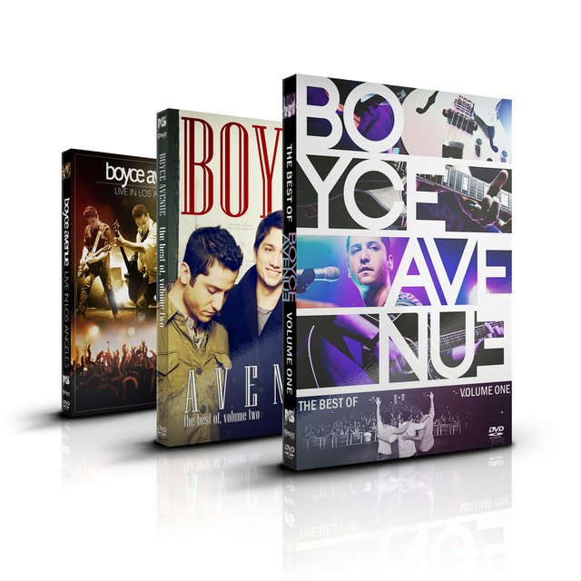 Kit Boyce Avenue: 5-DVD + 2-CD Set - 35% off