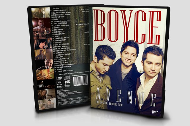 Kit Boyce Avenue: 5 DVD's + 2 CD's - desconto de 35% - Ms Jukebox