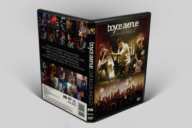 Kit Boyce Avenue: 5 DVD's + 2 CD's - desconto de 35%