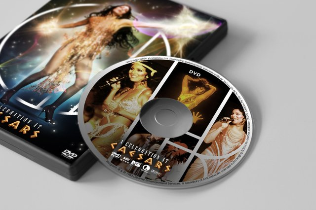 Cover DVD + CD Cher - A Celebration at Caesars