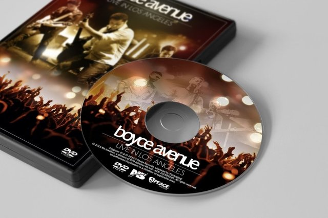 Boyce Avenue - DVD Live in Los Angeles on internet